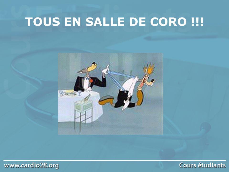 TOUS EN SALLE DE CORO !!!