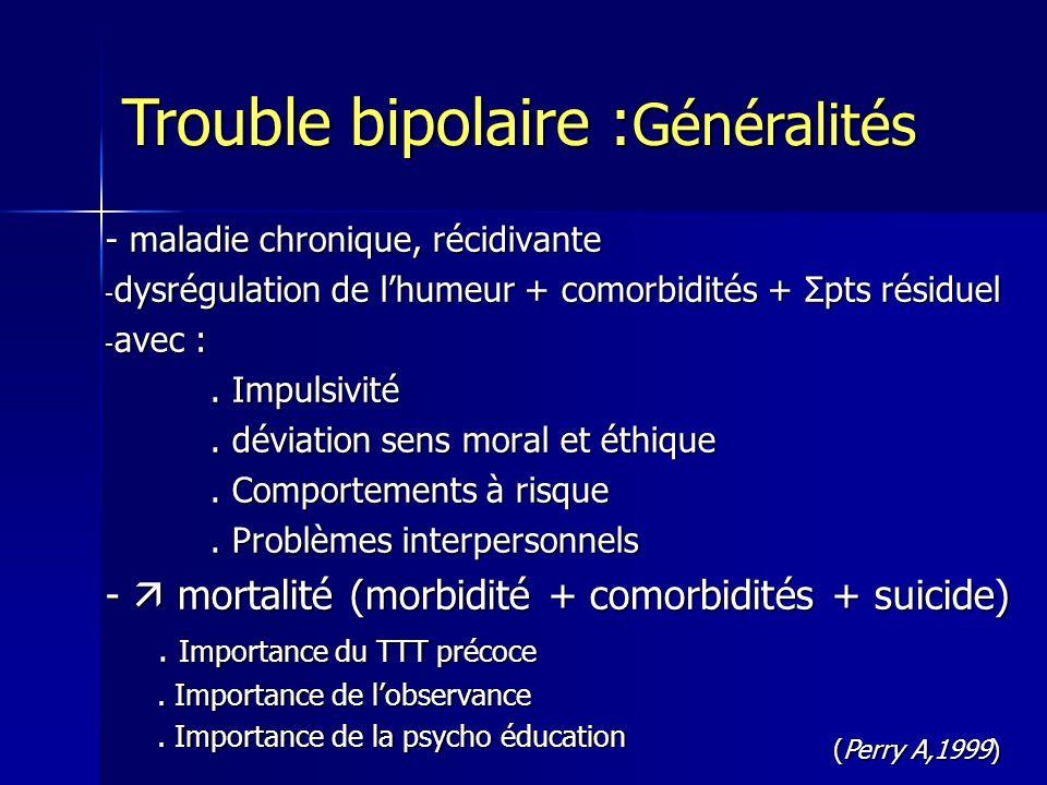 Trouble bipolaire :Généralités