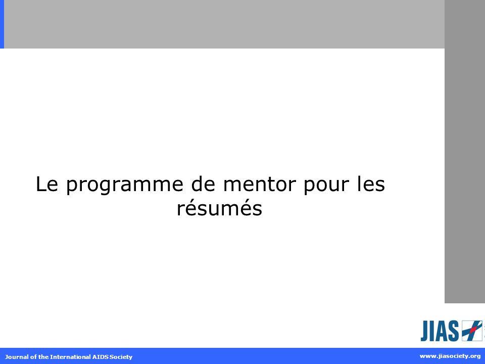 Le programme de mentor pour les résumés