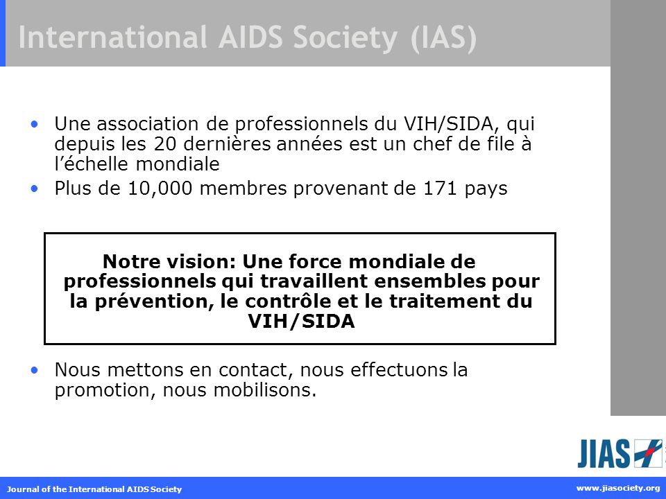 International AIDS Society (IAS)
