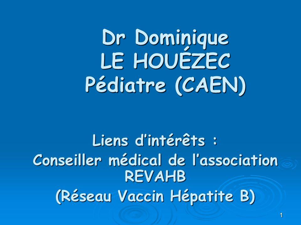 Dr Dominique LE HOUÉZEC Pédiatre (CAEN)
