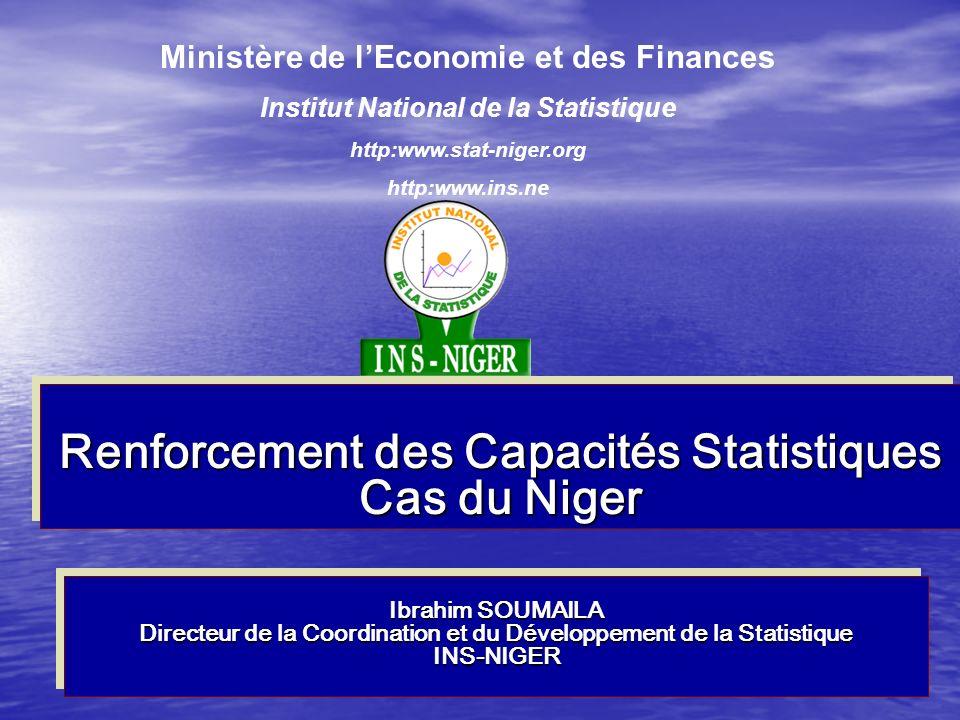 Renforcement des Capacités Statistiques Cas du Niger
