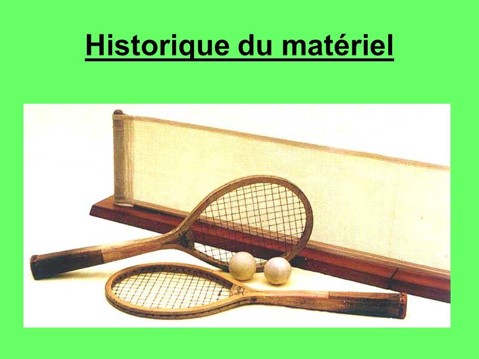 Historique du matériel