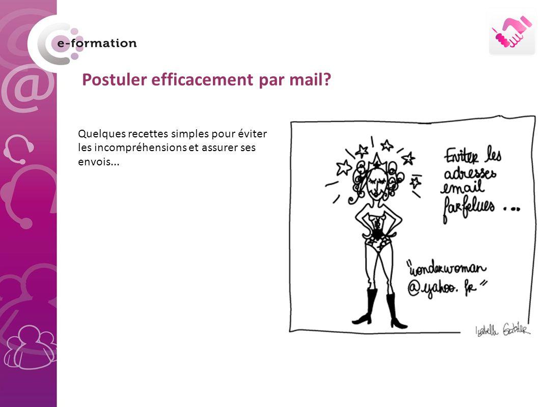Postuler efficacement par mail