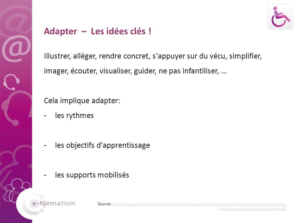 Adapter – Les idées clés !