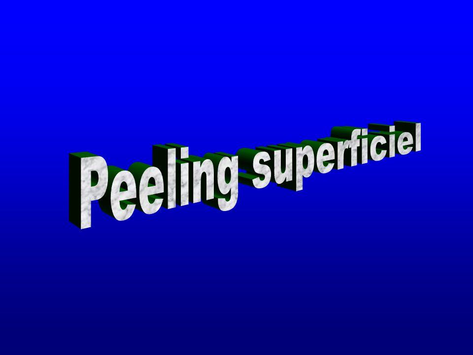 Peeling superficiel