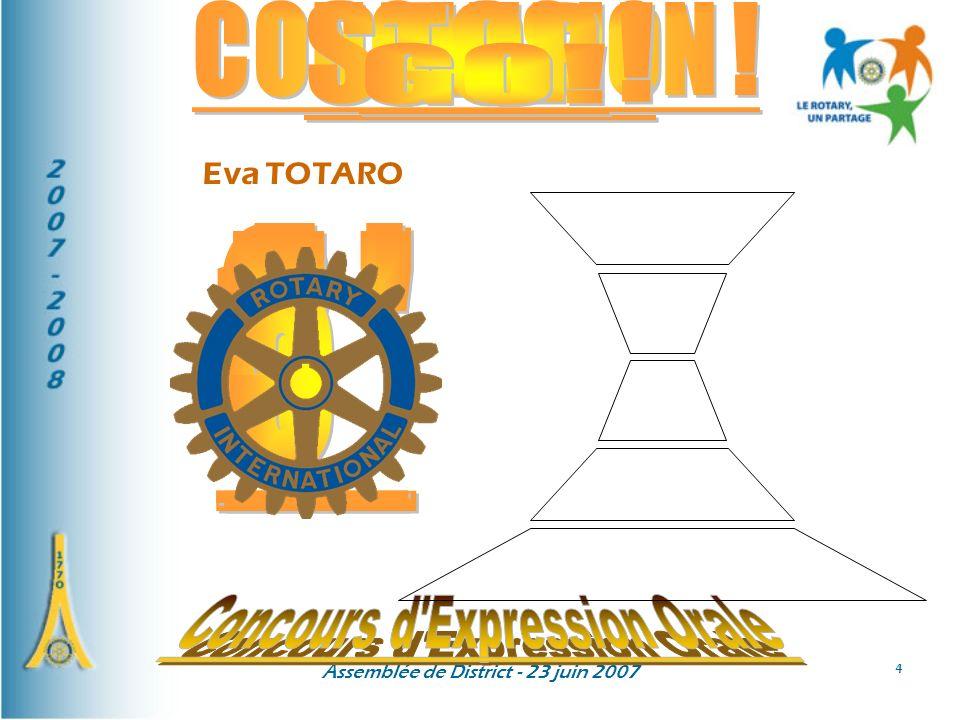 Concours d Expression Orale