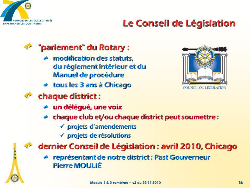 Le Conseil de Législation