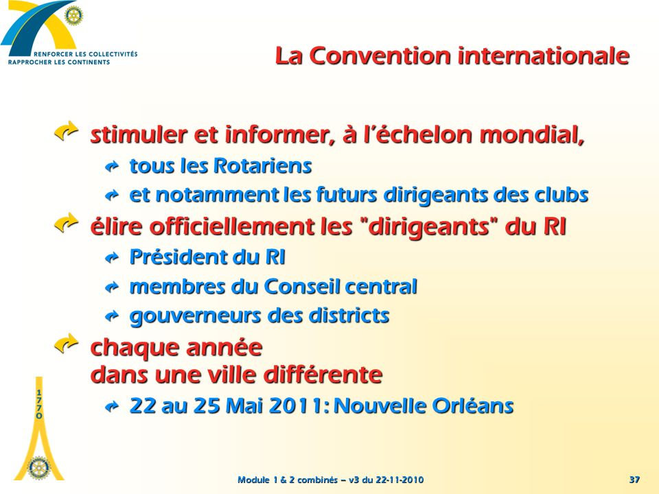 La Convention internationale