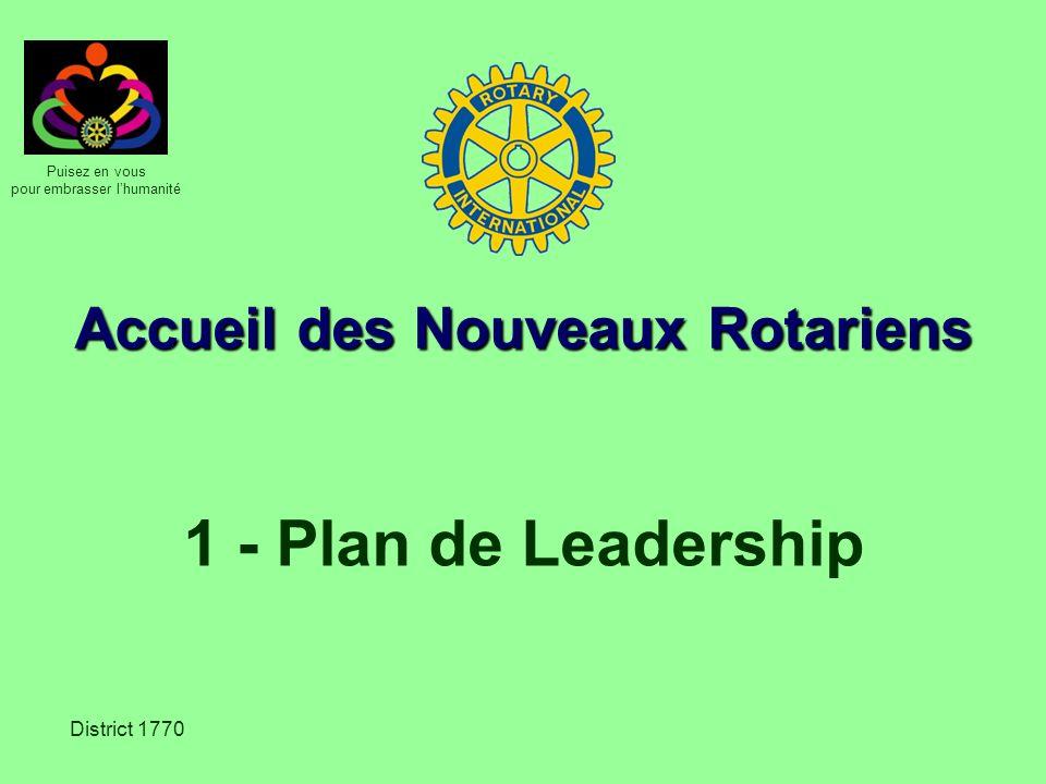 Accueil des Nouveaux Rotariens