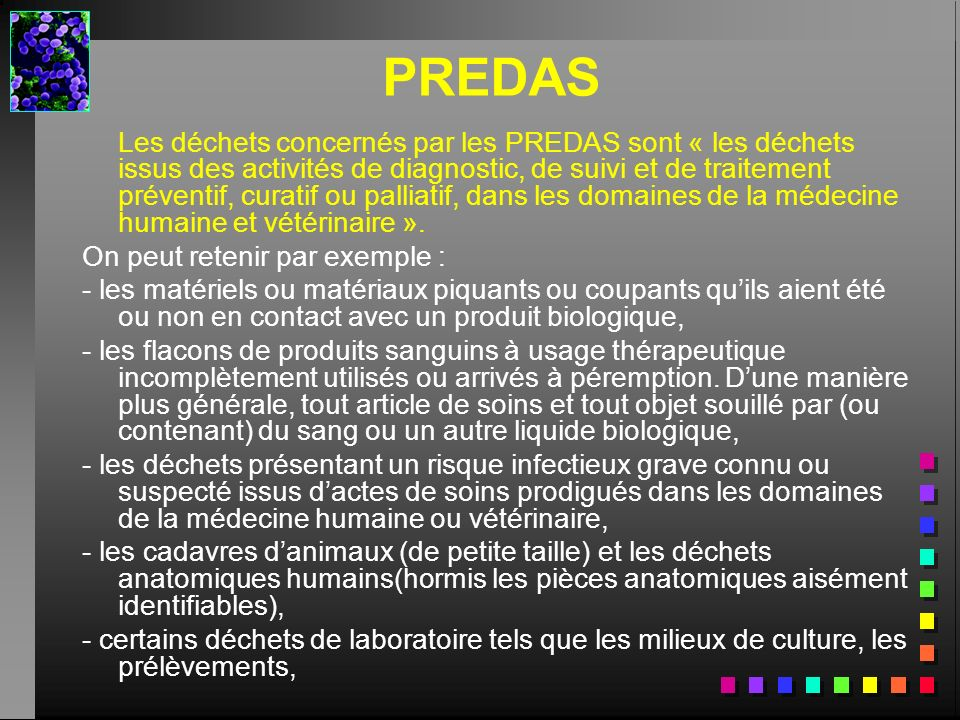 PREDAS