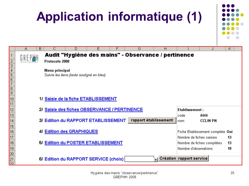 Application informatique (1)