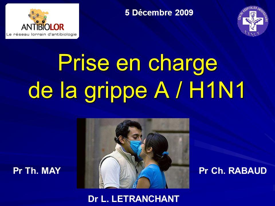 Prise en charge de la grippe A / H1N1