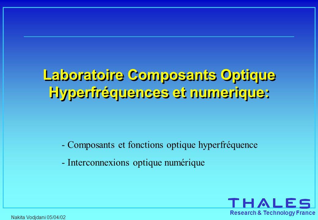 Laboratoire Composants Optique Hyperfréquences et numerique:
