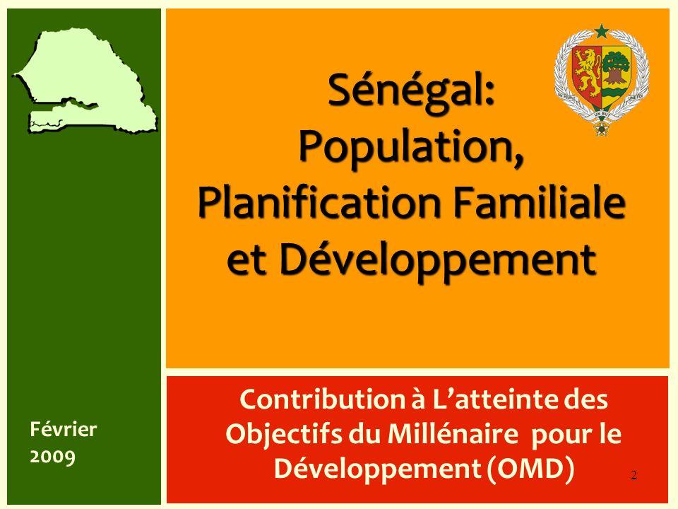 Sénégal: Population, Planification Familiale et Développement
