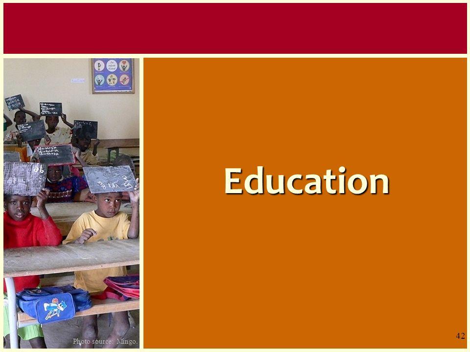Education Examinons quelques exemples du secteur éducation