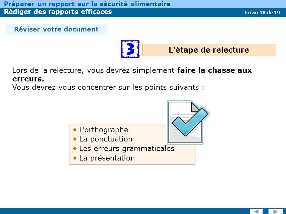 Réviser votre document