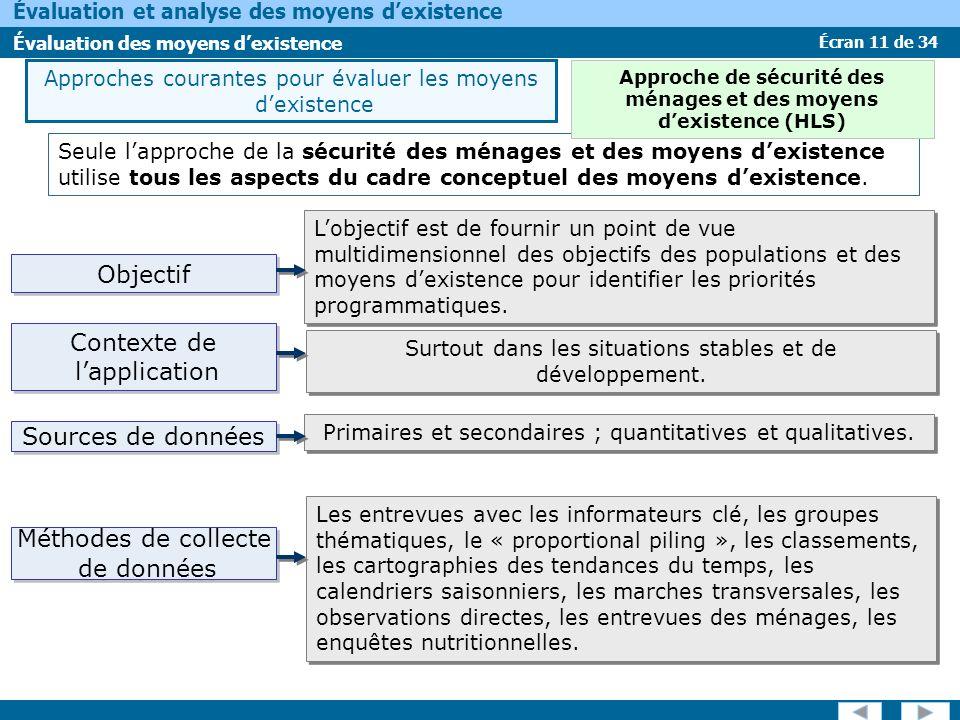 Approche de sécurité des ménages et des moyens d'existence (HLS)
