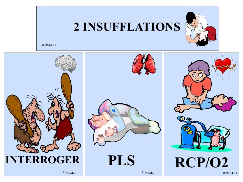 PLS RCP/O2 2 INSUFFLATIONS INTERROGER R.MULLER R.MULLER R.MULLER