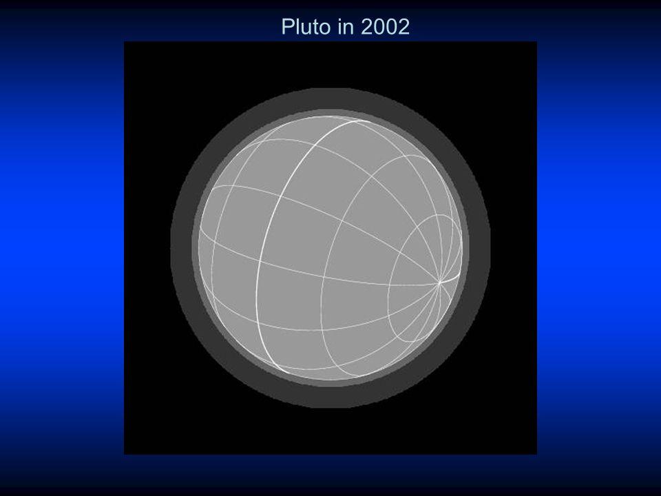 Pluto in 2002