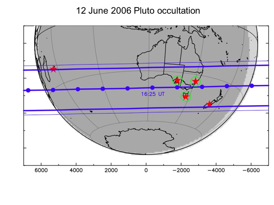 12 June 2006 Pluto occultation