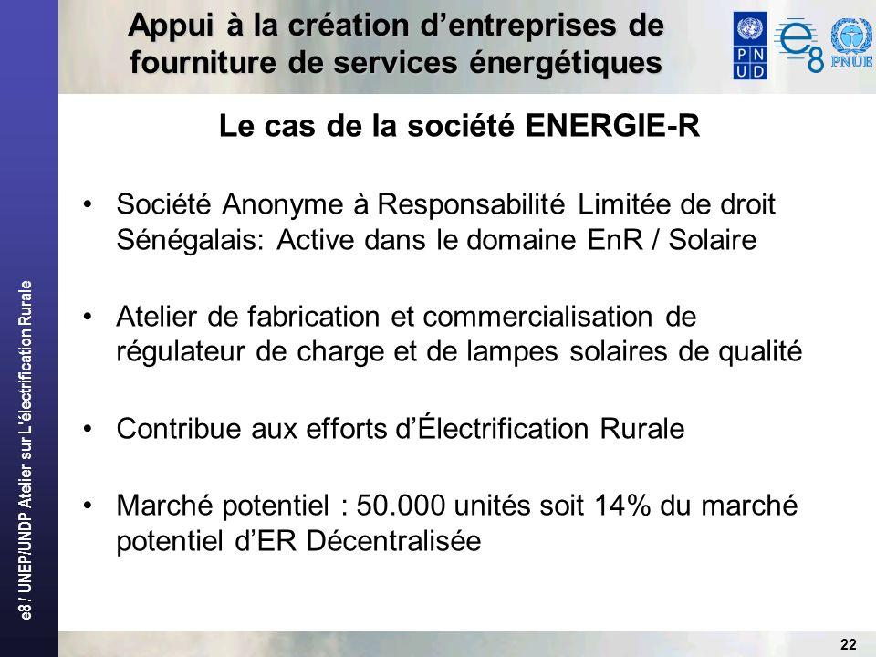 Le cas de la société ENERGIE-R