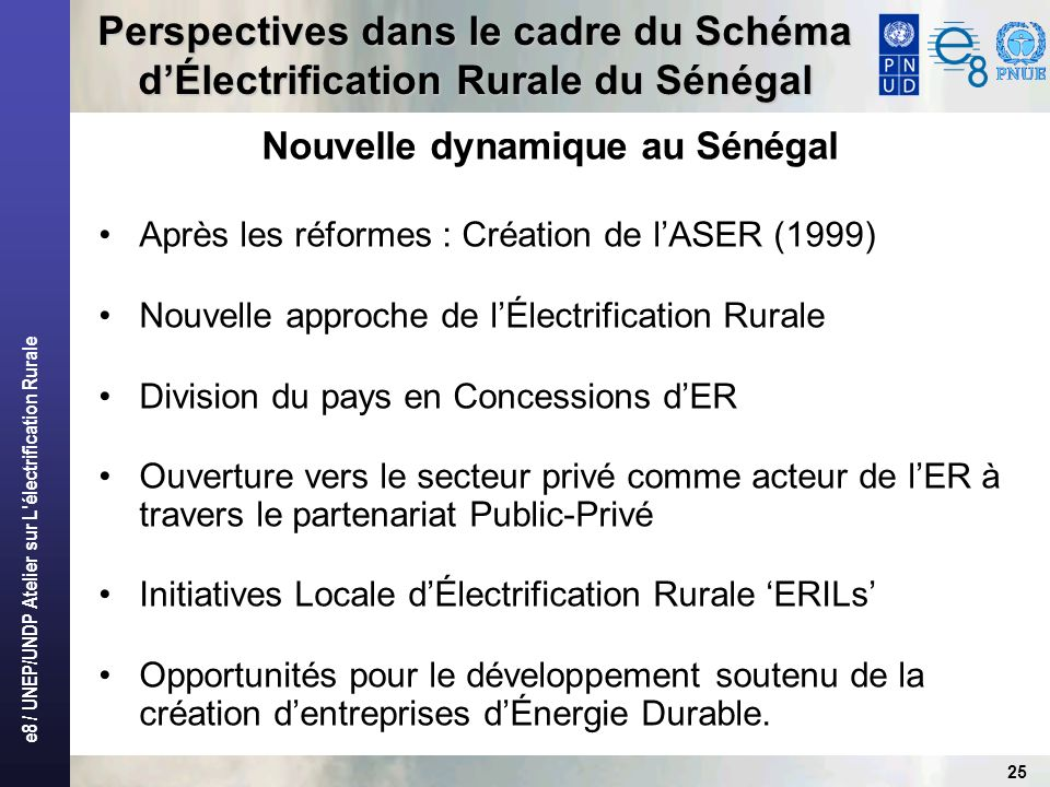 Nouvelle dynamique au Sénégal