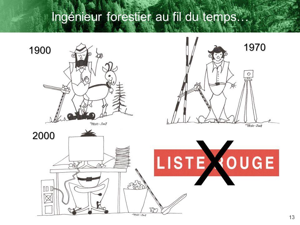 Ingénieur forestier au fil du temps…