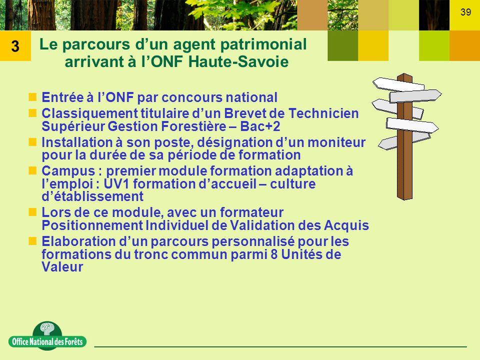 Le parcours d'un agent patrimonial arrivant à l'ONF Haute-Savoie