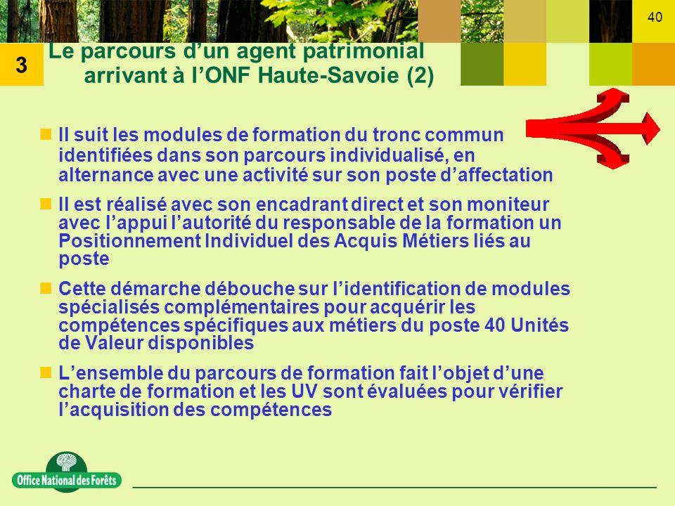 Le parcours d'un agent patrimonial arrivant à l'ONF Haute-Savoie (2)