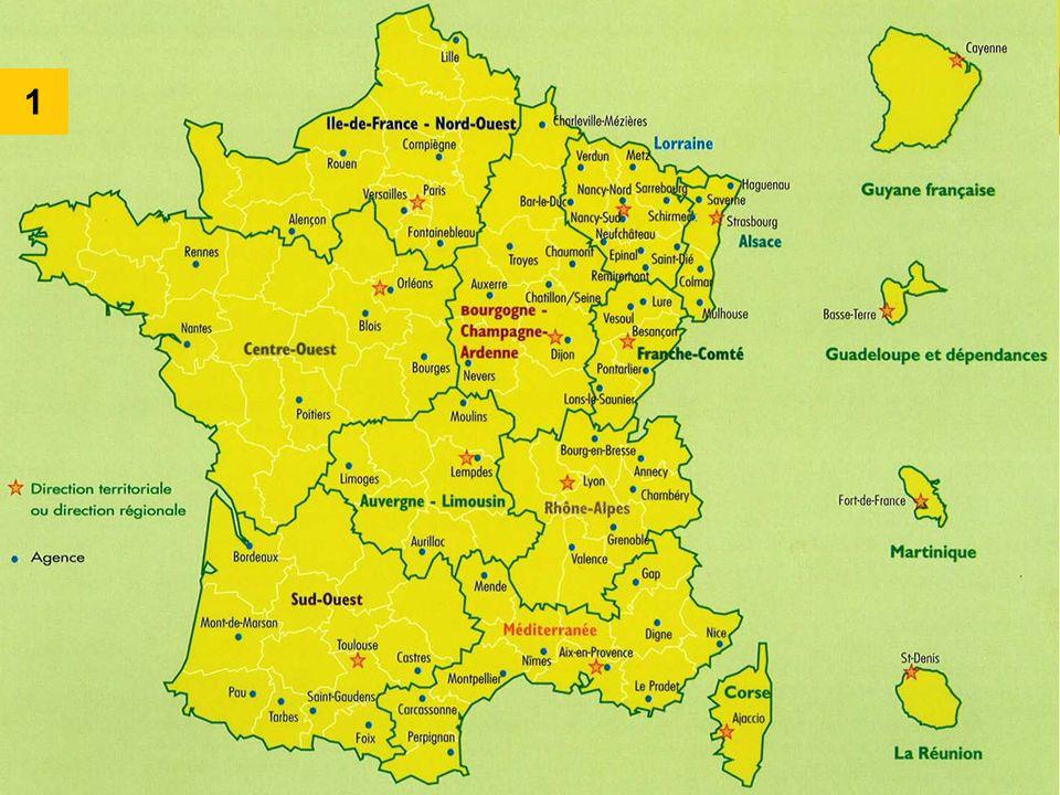 1 L ONF est présent sur tout le territoire français