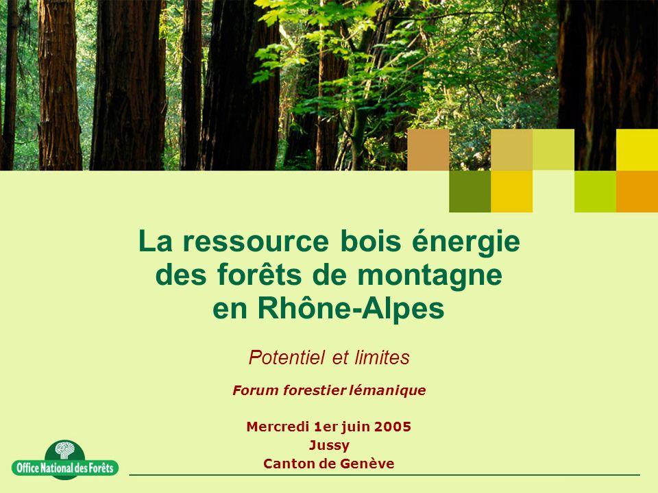 Forum forestier lémanique