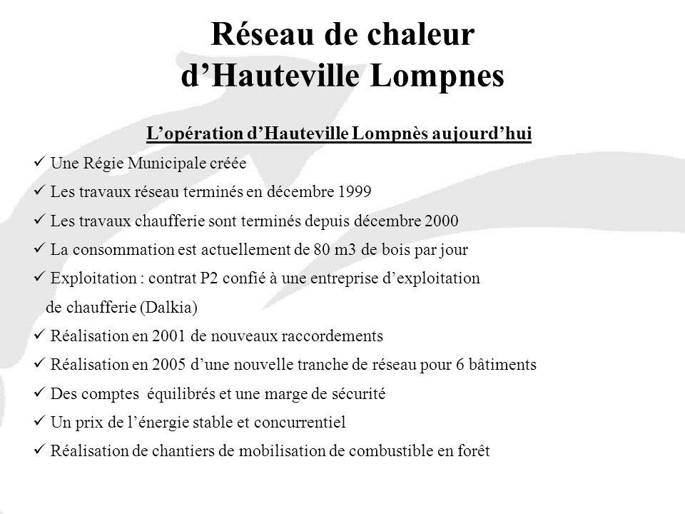 Réseau de chaleur d'Hauteville Lompnes