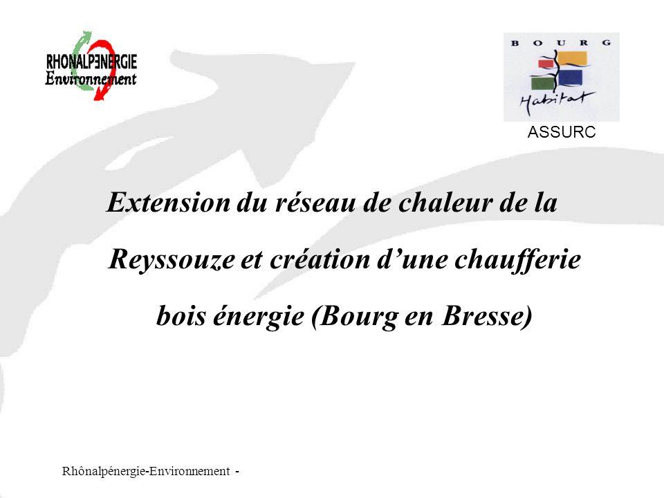 ASSURC Extension du réseau de chaleur de la Reyssouze et création d'une chaufferie bois énergie (Bourg en Bresse)