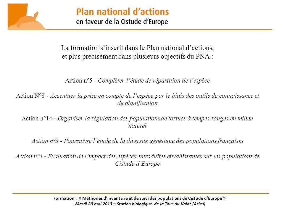 La formation s'inscrit dans le Plan national d'actions,