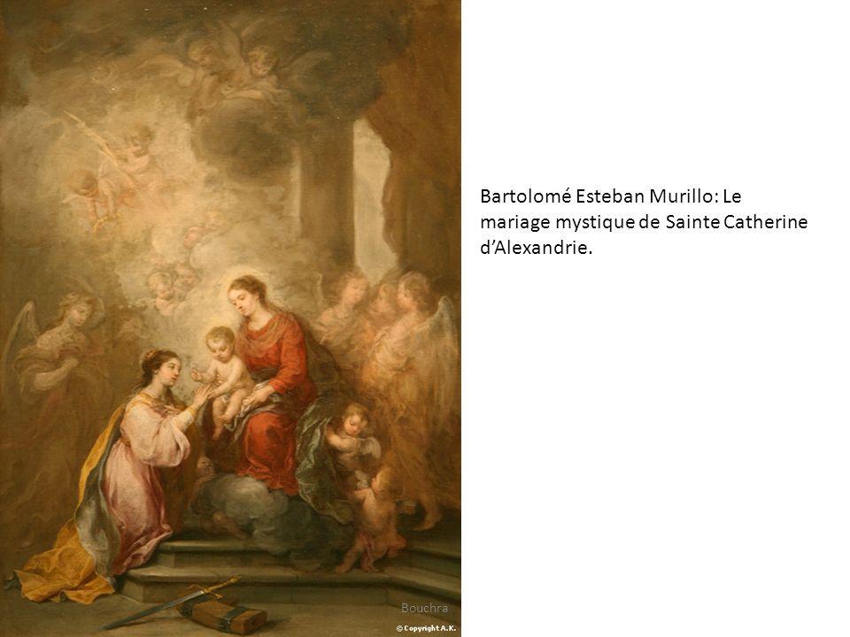 Bartolomé Esteban Murillo: Le mariage mystique de Sainte Catherine d'Alexandrie.