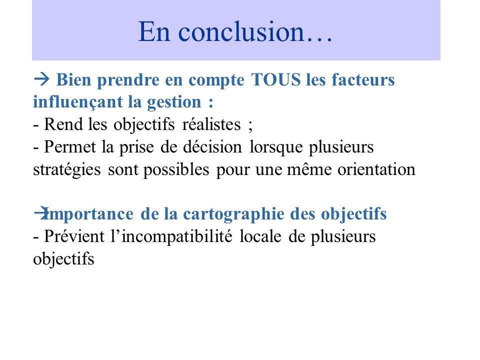 En conclusion… En Conclusion…