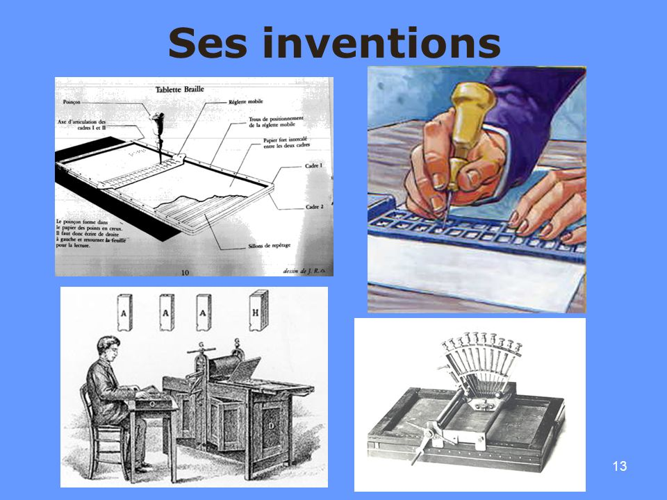 Ses inventions