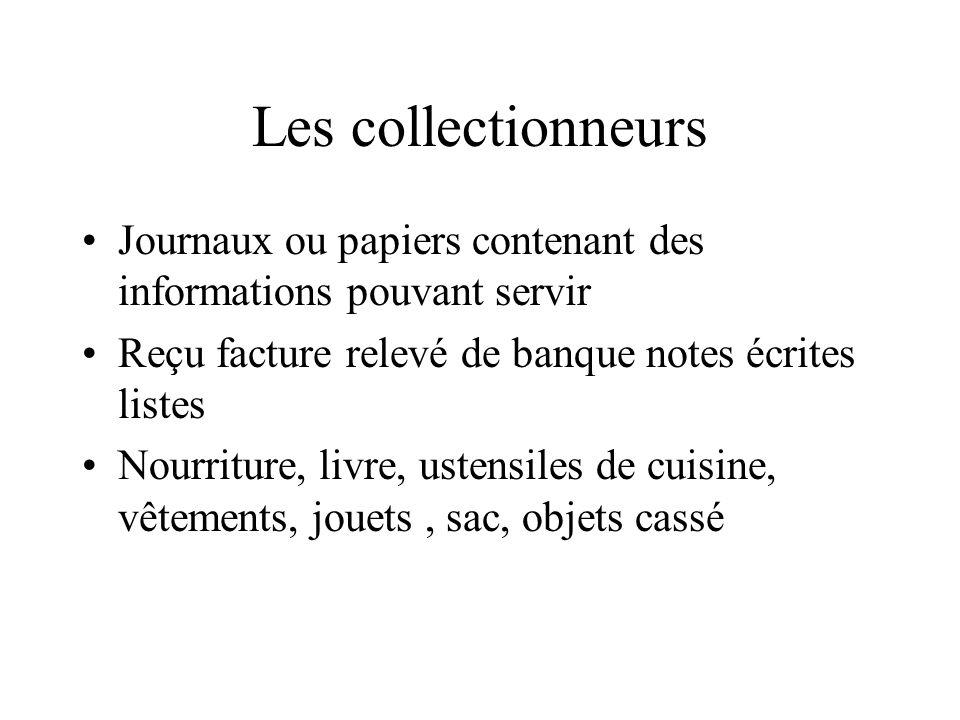 Les collectionneurs Journaux ou papiers contenant des informations pouvant servir. Reçu facture relevé de banque notes écrites listes.