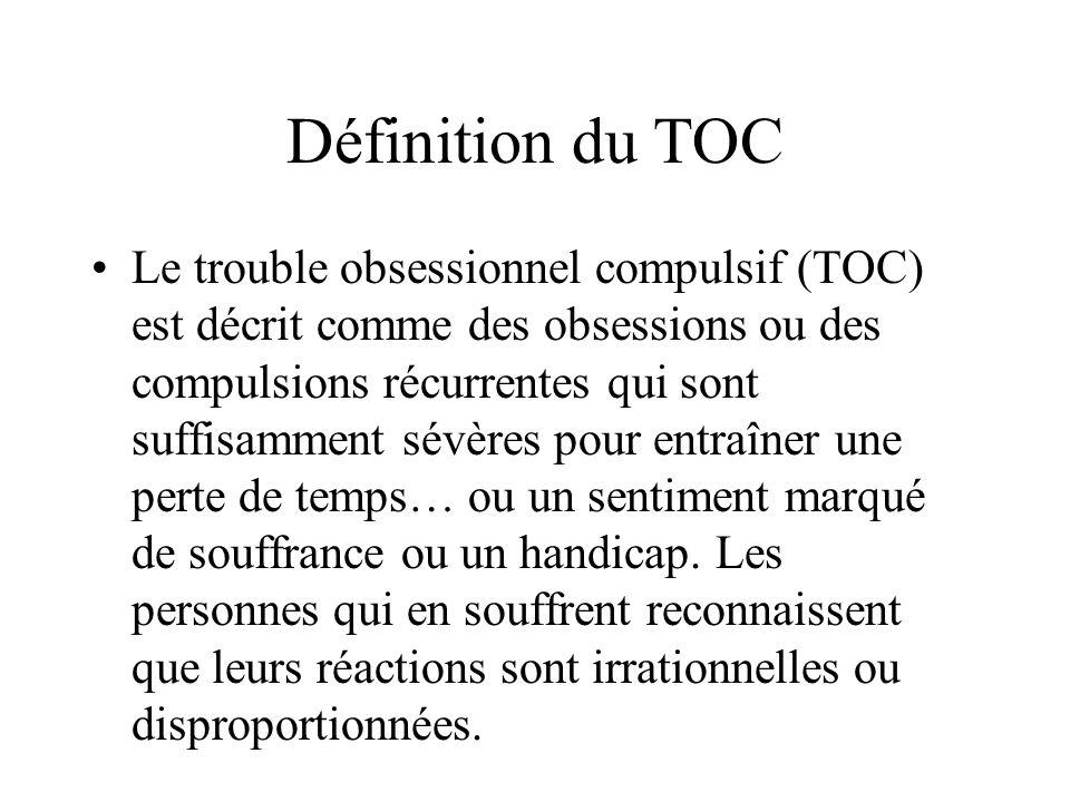 Définition du TOC