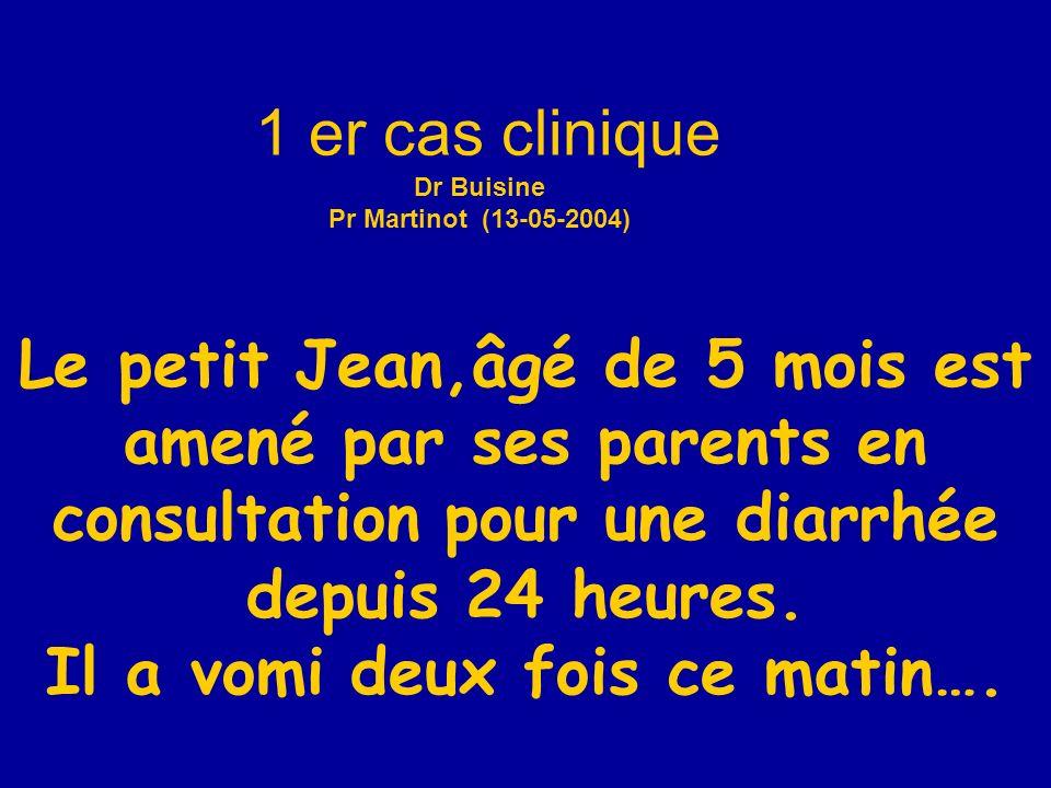 1 er cas clinique Dr Buisine Pr Martinot (13-05-2004)