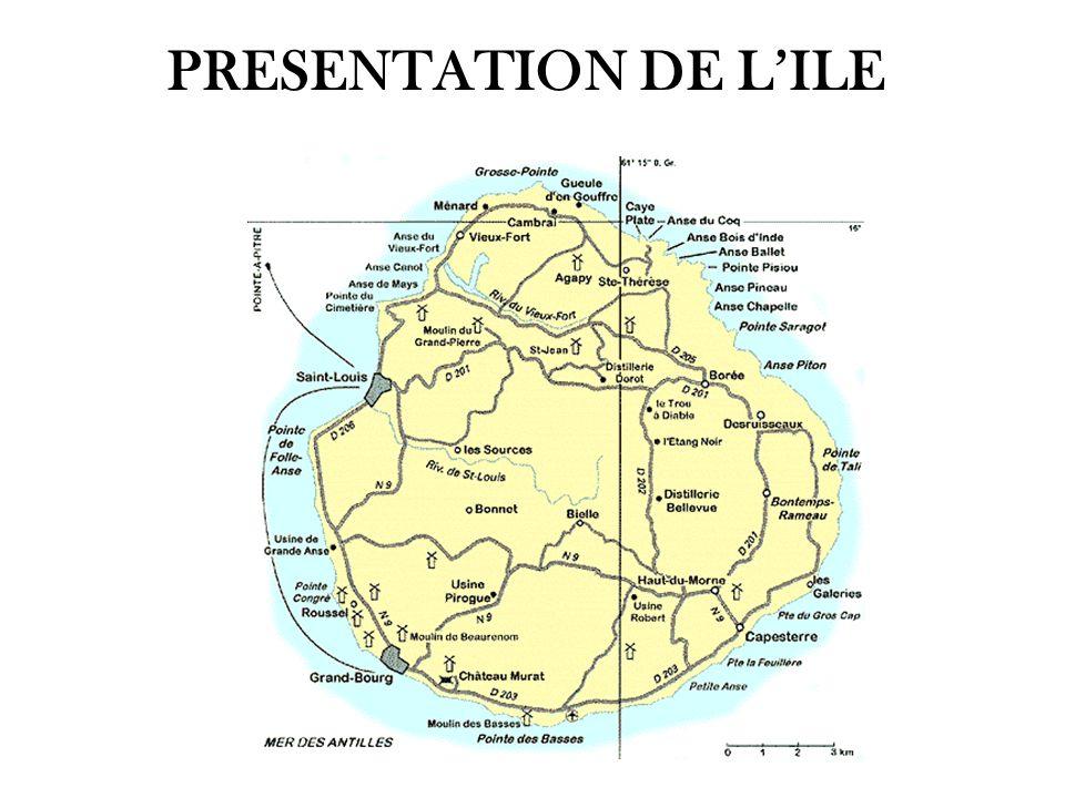 PRESENTATION DE L'ILE