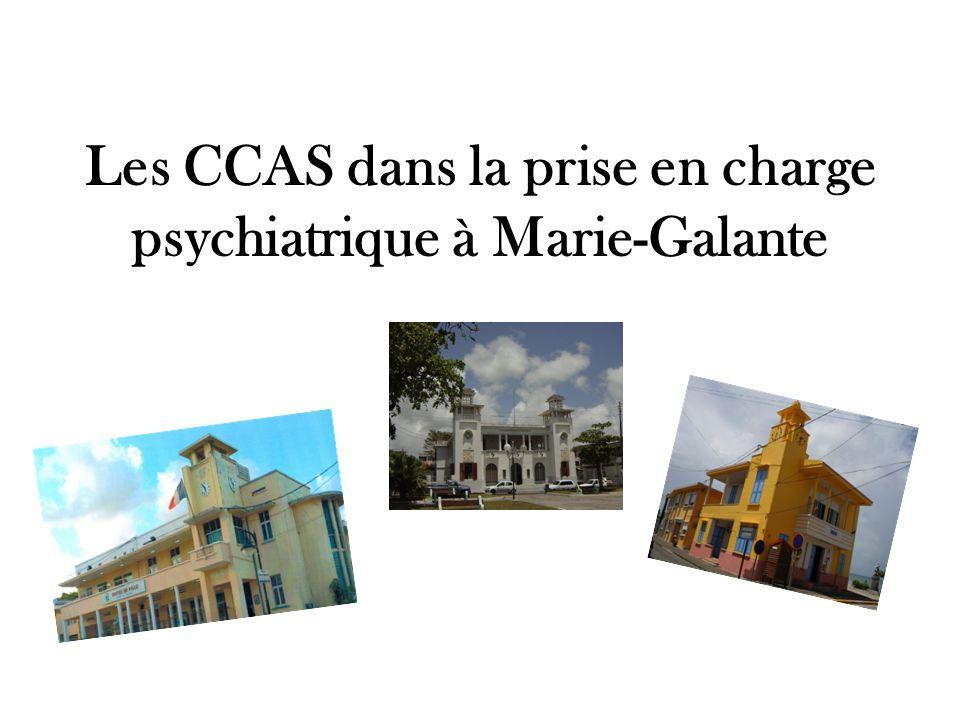 Les CCAS dans la prise en charge psychiatrique à Marie-Galante