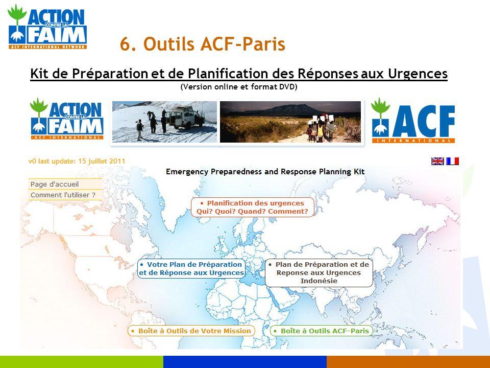 Kit de Préparation et de Planification des Réponses aux Urgences