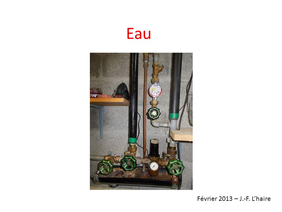 Eau Février 2013 – J.-F. L'haire