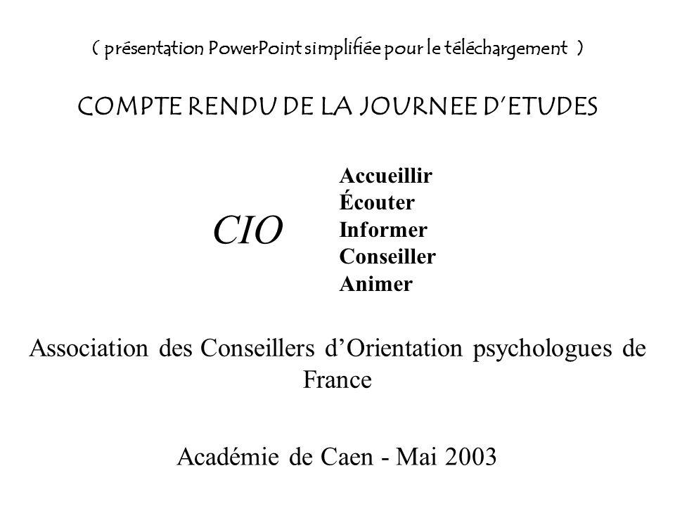 Association des Conseillers d'Orientation psychologues de France