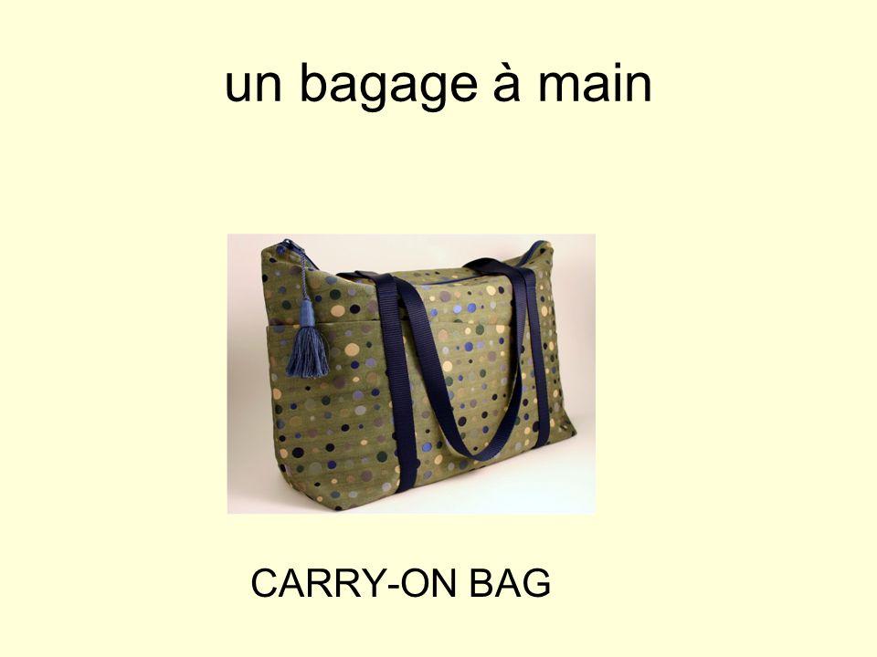 un bagage à main CARRY-ON BAG