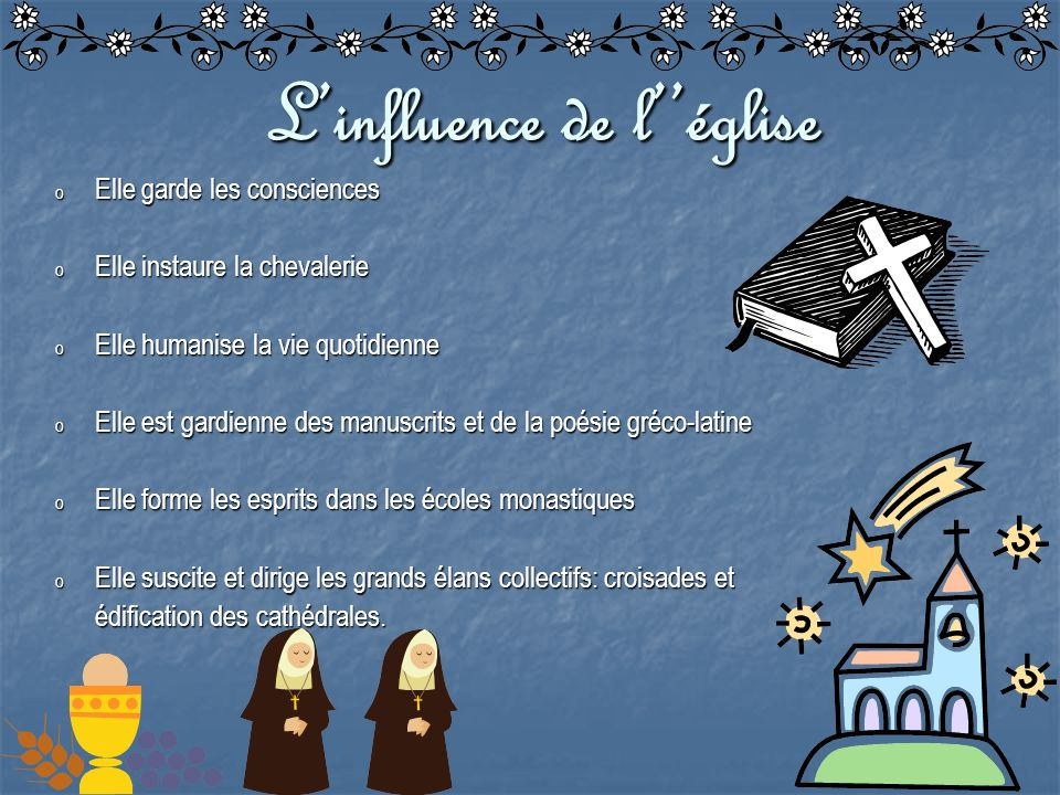 L'influence de l''église