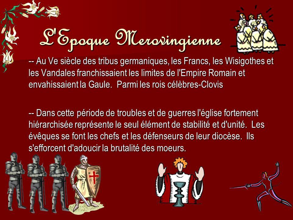 L Epoque Merovingienne