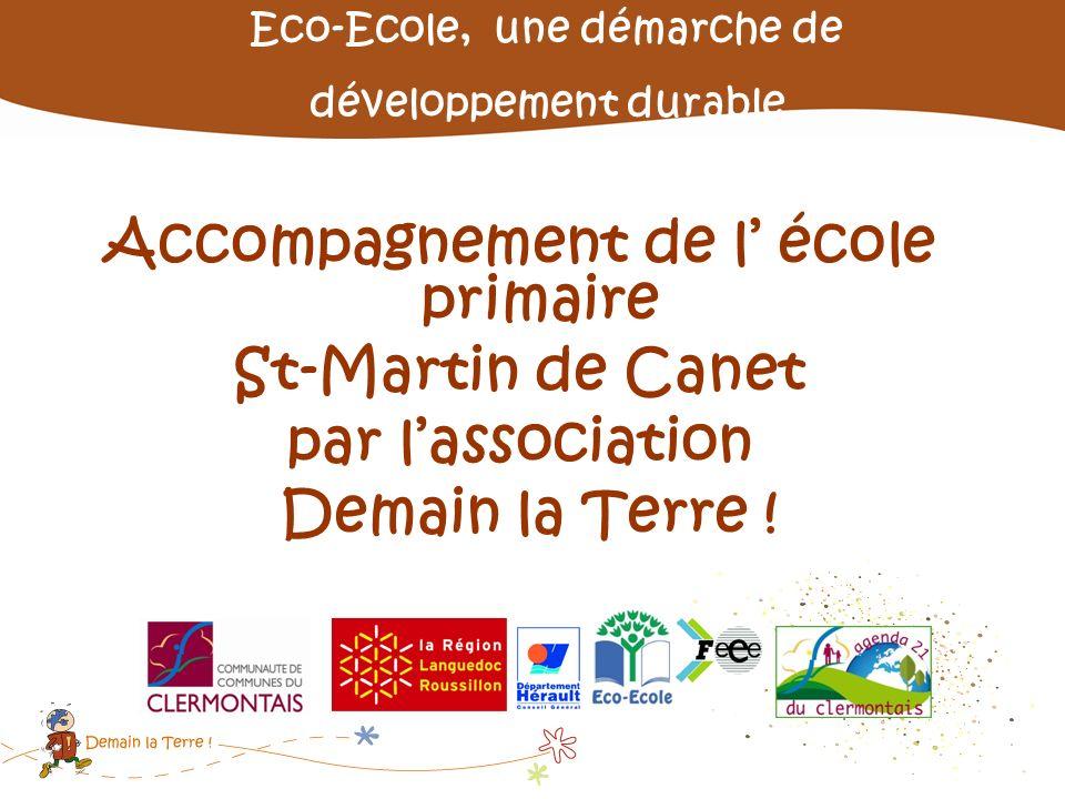 Accompagnement de l' école primaire St-Martin de Canet
